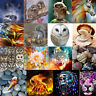 Full Drill DIY 5D Animals Diamond Painting Embroidery Cross Stitch Kits Decor