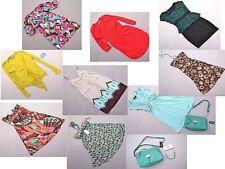 11 pc Womens Clothing Lot Medium 8 Casual Boho Tribal Flowing Dresses NWT Purse