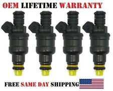85/86/87/88/89 Volvo 245 2.3L I4| 4pack Reman OEM Bosch Fuel Injector 0280150734