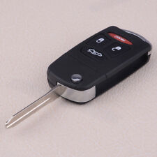4-Button Flip Remote Key Shell Case Fob For Chrysler 300C Dodge Jeep Mitsubishi