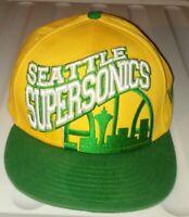 Seattle Supersonics New Era 9Fifty NBA Hardwood Classics Snapback Hat Cap