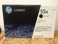 HP CE255A 55A Black Print Cartridge LaserJet Enterprise P3015, 500 MFP, M525