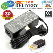 3.25A LAPTOP CHARGER LENOVO IDEAPAD G50-30 RECTANGLE USB 20V ADAPTER uk seller