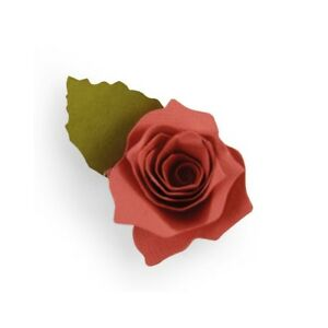 Fustella Sizzix BigZ Big Shot Rosa new 3D 661750