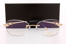Silhouette Eyeglass Frames Caresse Collection 4488 6052 23Kt Gold Plated SZ 53