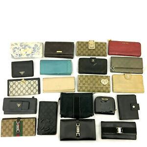 CHANEL GUCCI PRADA etc Wallet Case 20pc Set Damaged / j110