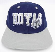 e6bbb2f5d3e GEORGETOWN HOYAS NCAA VINTAGE SNAPBACK RETRO 2-TONE BLOCK LETTERS CAP HAT  NEW!