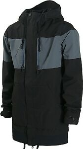 VOLCOM Men's CP3 Snow Jacket - Size Small - BLK - NWT