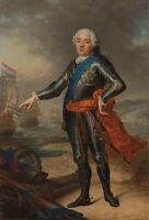 "oil painting on canvas ""Portrait of William IV (1711–1751), Prince of Orange  """