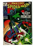 Amazing Spider-man #78, FN- 5.5, First appearance of Prowler (Hobie Brown)