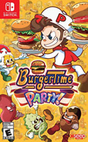 Burger Time Party Nintendo Switch Usa version English brand new