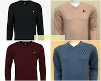LYLE AND SCOTT LONG SLEEVE V-NECK JUMPER FOR MEN WINTER COLLECTION