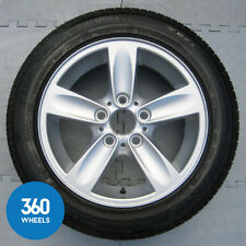 "1 X GENUINE BMW 1 SERIES 16"" 140 5 SPOKE ALLOY WHEEL TYRE 6.7MM 36116775619"