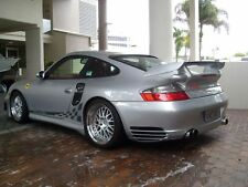PORSCHE  997 GT2 REAR TAIL DECK LID SPOILER  WING FOR 996 TURBO TT 2001 TO 2005
