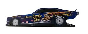 "NHRA Jungle Jim Funny Car Decal For Window Toolbox 3M Vinyl 11"" Revell Model Kit"