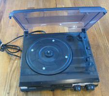 Jensen - 3-Speed Stereo Turntable - Black (Jta-230) - Good Condition - Tested