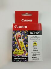 Canon 6 Yellow- BCI-6Y Ink Tank - New In Box