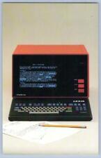 LEXIS UBIQ LITTLE RED TERMINAL 1979 ERA ADVERTISING POSTCARD MEAD DATA CENTRAL