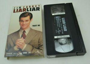 Liar Liar Trust Me Jim Carrey Comedy Vintage VHS Tape Movie Video