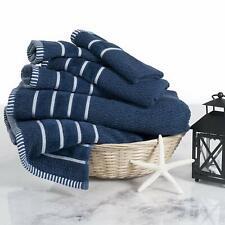 Rice Weave 100% Cotton 6 Piece Cotton Towel Set Washclothes