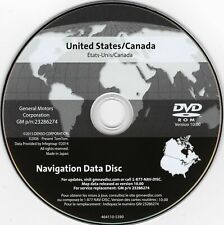 2005 - 2011 Cadillac Sts 2016 Navigation Dvd Map Update p/n: 23286274 ver 10.0 (Fits: Cadillac)