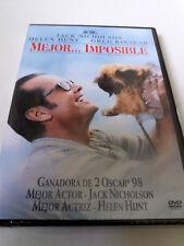 "DVD ""MEJOR ... IMPOSIBLE"" PRECINTADO SEALED JAMES L BROOKS JACK NICHOLSON HELEN"