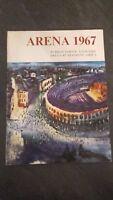 Folleto Clásico Arena 1967 45 Temporada Lirica Buen Estado (Italiano)