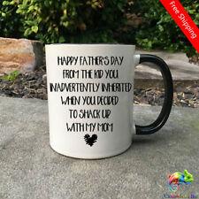 Funny Step Dad Fathers Day Mug Step Dad mug Happy Fathers Day mug Father's day