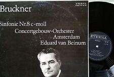 BRUCKNER Symphonie  Symphony 8 Van beinum 2 LP Eterna 825198-199 NM