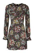 Topshop Long Sleeve Casual Floral Dresses for Women