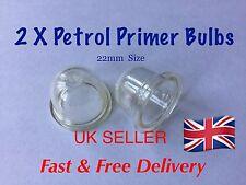 Fuel Primer Bulb X 2  , Mower, Cutter etc , Good Quality ( 22mm SIZE )
