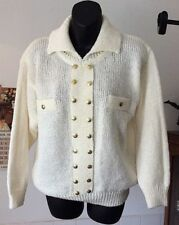 Handmade Wool Blend Regular Size Vintage Clothing for Women