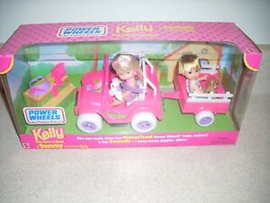 1997 Kelly & Tommy Power Wheels by Fisher-Price Motorized Jeep             4024