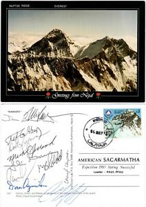 Expedition postcard from the American Sagarmatha [Everest] Expedition 1993