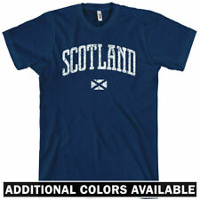 SCOTLAND T-shirt - Edinburgh Glasgow Aberdeen Celtic Rangers UK Rugby - XS-4XL