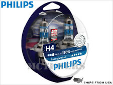 NEW PHILIPS H4 9003 HB2 RACING VISION 150% HEADLIGHT BULBS 12342RVS2 | PACK OF 2