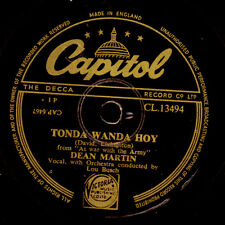 DEAN MARTIN Tonda wanda hoy / You and your beaitiful eyes  Schellackplatte S8343