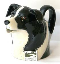 Border Collie Sheepdog Milk Jug by Quail Pottery New