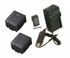 TWO 2 Batteries + Charger for Panasonic AG-HMC81 AG-HMC81E AG-HMC82 AG-HMC82E