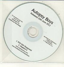 (DC798) Autopsy Boys, Rich Kids Playground - 2012 DJ CD