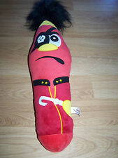 "Large 25"" Kooky Pen Plush Pirate Stuffed Animal Red Krew 5 VOX #26 EUC"