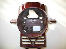 rivestimento FARI FANALE COPERCHIO HONDA CX500 CX 500 NUOVO PARTE PEZZO Rosso