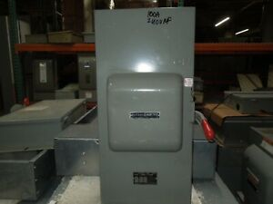 GE TC70323 100A 3ph 3P 240V AC Double Throw Non Fused Manual Transfer Switch