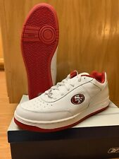 NEW - Mens Reebok NFL Recline Shoes San Francisco 49ers 2007 THROWBACK Size 15