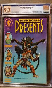 "Dark Horse Presents 36  CGC  9.2 NM  1st appearance of """"Aliens vs. Predator"