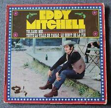 Eddy Mitchell, toi sans moi, EP - 45 tours - verso carré bleu