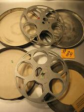 2 Antike Filmspulen für 16mm Film mit Dosen 1940.Jahre.D.84-Antique film reel