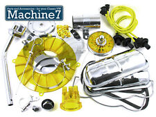 Classic VW Beetle Engine Chrome Yellow Tinware Dress Up Kit T1 Bug T2 Camper