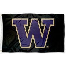 Washington Huskies Uw Blackout Flag 3x5 Banner