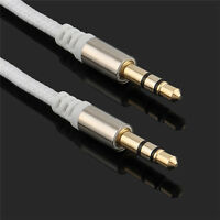 New 3.5mm Male to Male Car Aux Auxiliary Cord Stereo Audio Cable for Phone iPod